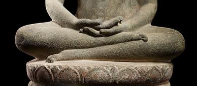 Buddha en meditation.