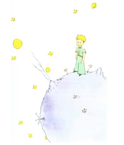 Le petit prince D'une autre planète