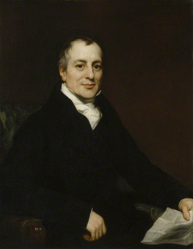 NPG L241; David Ricardo by Thomas Phillips