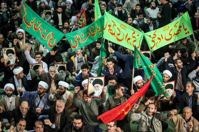 iran manifestation