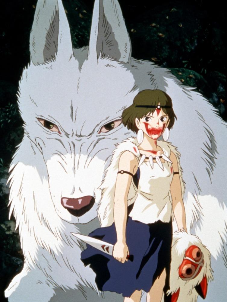 もののけ姫、 un des film principaux pour la relation homme nature.